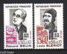 Frankreich   Nr. 1799-1800  **  Berühmte Franzosen
