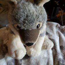 "Wild Republic Realistic Wolf Plush Stuffed Animal 10"""