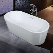 Premier Oval Ceramic Bathtub 1700mm