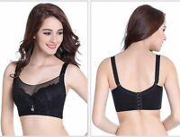 Women Plus Size Bra Underwired Push Up Bra 36 38 40 42 44 46 C D E Full Cup Bras
