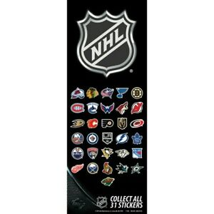 NHL Vending Logo Stickers pick your team