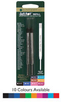 2 x Parker Compatible G2 Ballpoint Pen Refills Multiple Colours - Monteverde