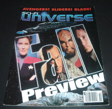 SCI-FI UNIVERSE MAGAZINE ~ OCT. 1998 ~ AVENGERS SLIDERS BLADE ~ FALL PREVIEW