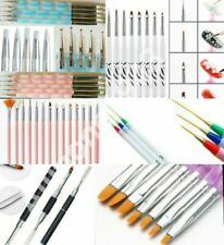 UV GEL Acrylic Nail Art Tip Design Dotting Painting Pen Polish Brush Tool CHOOSE