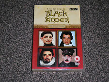 BLACK ADDER : THE COMPLETE ALL FOUR SERIES DVD BOXSET IN VGC (FREE UK P&P)