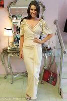 Virgos Lounge Maxi Dress Wedding Party Bridesmaid UK 8 10 RRP £125