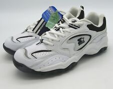 J6213 New Men's Starter Prestige White/Black Athletic Sneaker 12 M
