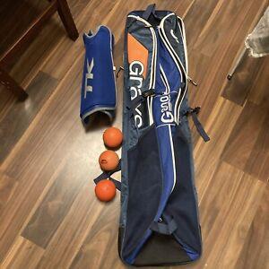 Grays G800 Hockey Bag With 3 Balls And TK Shin Pads