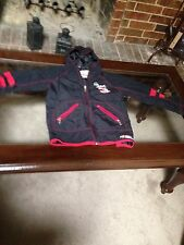 Dale Earnhardt Black/Red NASCAR Yourh Jacket SZ S