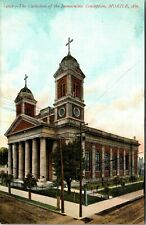 Postcard AL Mobile Cathedral of Immaculate Conception C.1907 A20