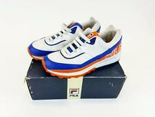 FILA Athletic Atlantic Running Shoe Orange/Blue Bears Mens 8 BOX Vintage