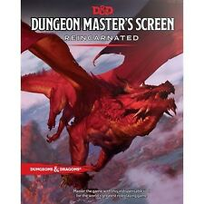 Dungeons & Dragons 5th RPG - Dungeon Master's DM Screen - Reincarnated (Fifth...