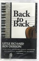 Back to Back: Little Richard & Roy Orbison (Cassette, 1998, BMG) NEW!