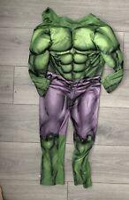 Hulk Fancy Dress Kids,aged 4-5,long sleeved,marvel,marvel