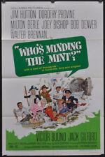 WHO'S MINDING THE MINT? 1967 ORIGINAL 27X41 MOVIE POSTER JIM HUTTON MILTON BERLE