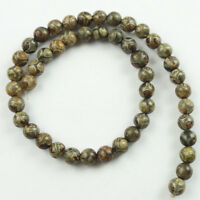 8mm Excellent Tibet Agate Heaven Eye Round Ball Loose bead 15.5inch  NN354