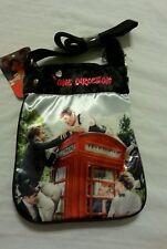 One Direction Girls Purse Cross Body Tote Bag Handbag black 1D