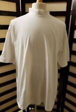 New w/ tags Greg Norman Play dry performance mens white golf shirt size Xxl
