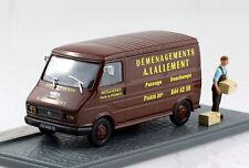 Citroen C35 Umzugswagen Diorama 1:43 Altaya Modellauto