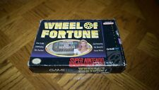 Wheel of Fortunes Complete with Box (SNES, Nintendo, Good Condition)