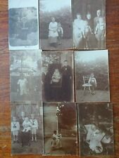 9 Old Photos Pictures Children Portraits 1910-1020