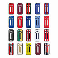 New Personalised Football team iPhone Cases 4 5 5c 5s 6 6+ Cover Any Name Number