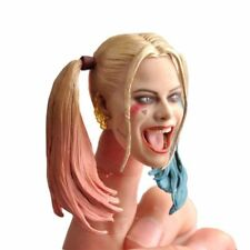 1/6 scale Female Joker Harley Quinn Head Carved Painted Head Model 12'' HT Body
