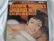 CATERINA VALENTE'S GREATEST HITS VINYL LP WERNER MULLER AND HIS ORCHESTRA 1965