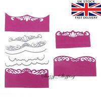 5 piece Fancy Edge Border Die set metal cutting die cutter UK seller Fast Post