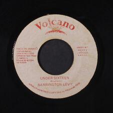 BARRINGTON LEVY: Under Sixteen / Version 45 (Jamaica, small wol) Reggae