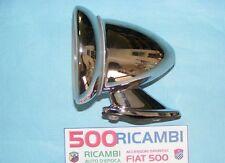 FIAT 500 F/L/R SPECCHIO BULLET A CALICE ROTONDO CROMATO CONICO A BULLONI DX