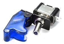 12V bleu lumière led toggle flick spst interrupteur on/off voiture dash board chip 90B