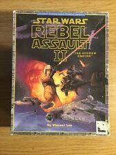 Star Wars: Rebel Assault II: The Hidden Empire (PC: mac et windows/windows, 1...