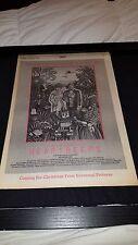 Heartbeeps Andy Kaufman Rare Original Promo Poster Ad Framed!