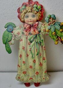 Hampelmann Ziehpuppe Raphael Tuck Mädchen Dear Dolly Ende 1900JH