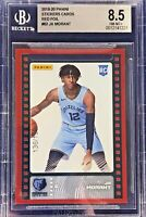 Ja Morant 2019-20 Panini NBA Sticker & Card Collection Rookie Red Foil /199