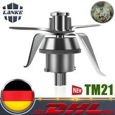 Ersatz Messer Mixmesser Edelstahl für Vorwerk Thermomix TM21 Küchenmaschine DE