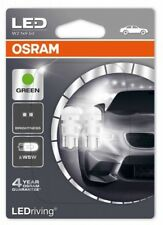 SET 2X OSRAM W5W LED LIGHT BULB 12V GREEN