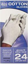 CARA  Hypoallergenic Moisturizing Cotton Gloves Medium 24 Pair