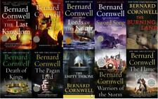 SAXON CHRONICLES Historical Fiction Series by Bernard Cornwell PAPERBACKS 1-10