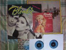 BLONDIE - COLLECTION OF 2 ORIGINAL LPs & 4 Singles