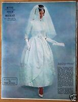 Mayers Schweizer Frauen-und Modeblatt Nr. 6 /1961 mit Beilage u. Schnittmusterbo