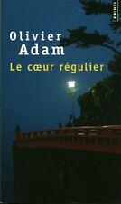 Livre de poche le coeur régulier Olivier Adam book