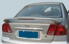 PAINTED 2001 2002 2003 2004 2005  4 Door Honda Civic Spoiler - Factory Style