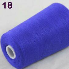 Sale Luxurious Soft 100g Mongolian Pure Cashmere Knitting Cone Yarn Royal Blue