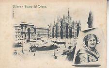 Cartolina Postale - Mailand / Milano - Piazza del Duomo