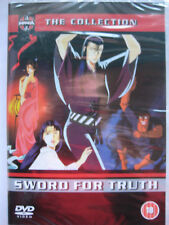 Sword For Truth (DVD, 1998) The Manga Collection NEW SEALED PAL Region 2