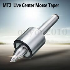 NEW 2MT 0.000197'' CNC Precision Long Spindle Lathe Live Center Morse Taper Tool