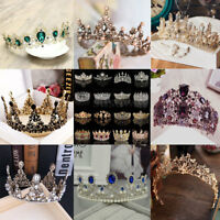 NEW Wedding Bridal Princess Rhinestone Tiara Crown Headband Hair Accessories