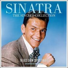 Frank Sinatra SINGLES COLLECTION Best Of 42 Songs NEW WHITE COLORED VINYL 3 LP